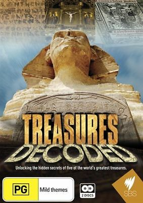 Treasures Decoded (DVD, 2013, 2-Disc Set) Brand New  Region Free