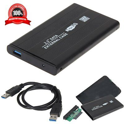 New USB 3.0 2.5In SATA External Hard Drive Mobile Disk HD Enclosure/Case Box MU