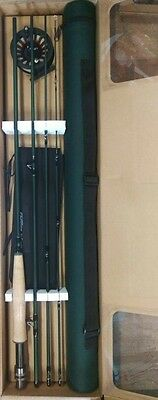 """Gillies Freshwater Fly Fishing Outfit Complete Kit 9'0"""" 4pc 6WT & Tube Trout New"""
