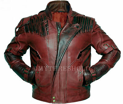 Guardians of the Galaxy Vol. 2 Star Lord Chris Pratt Synthetic Leather Jacket