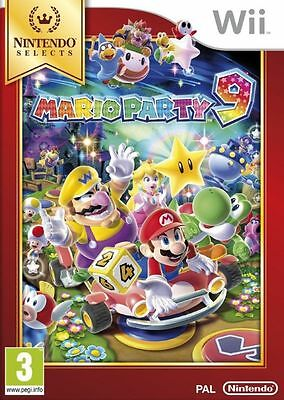 Mario Party 9 Wii Game Brand New *DISPATCHED FROM BRISBANE*