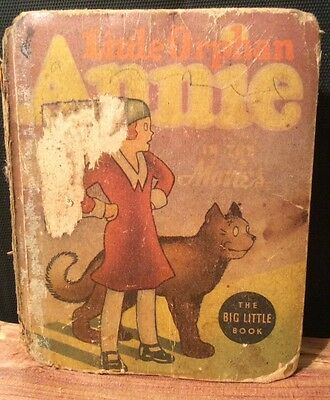Old books - Classics - Little Orphan Annie book - The Big Little Book