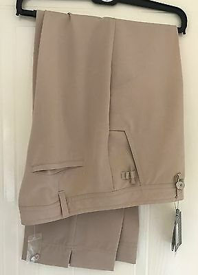 Daily Sports Ladies golf trousers stone colour Size 18  B.N.W.T.