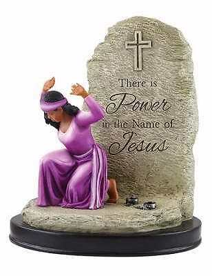 Figurine-Power In The Name Of Jesus