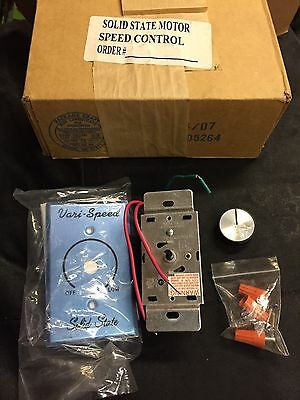 NEW  KB Electronics KBWC-15K Solid State Motor Speed Control 5 Amp 120VAC