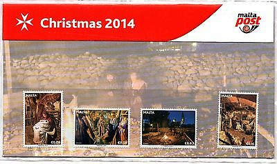 Malta 2014 Christmas Presentation Pack Unmounted Mint