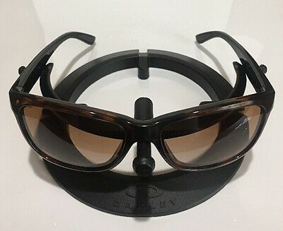 ~~~OAKLEY FOREHAND Sunglasses Tortoise Black Dark Brown Gradient 9179-06 Womens