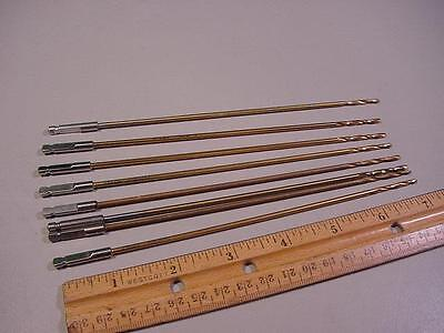 Lot Of 8 Synthes 310.23 Surgical Orthopedic Gold Drill Bits 2.5Mm 180Mm