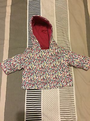 Mothercare Flower Baby Girls Jacket Size Upto 1 Month