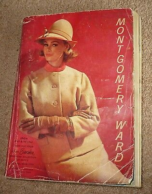 Vintage Montgomery Wards 1964 Fall & Winter Department Store Catalog