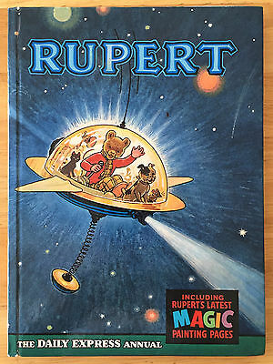 RUPERT ANNUAL 1966 Inscribed Price Intact  MAGIC PAINTINGS UNTOUCHED FINE