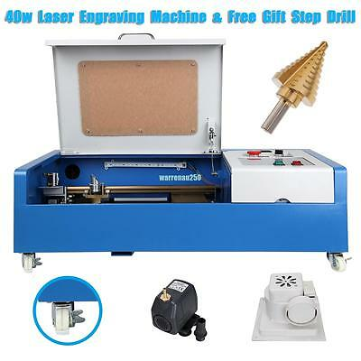 40W CO2 USB Port Laser Engraving Cutting Machine Engraver Cutter  300x200mm