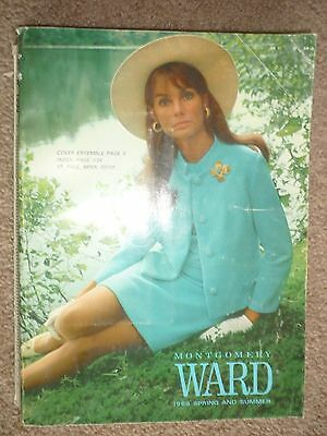 Vintage 1968 Montgomery Ward Spring and Summer Department Store Catalog