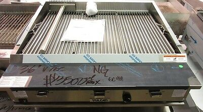 Vulcan IRX VTEC36 Countertop Natural Gas Infrared Charbroiler- Never Used