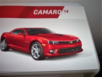 2014 CHEVROLET CAMARO Dealer  Sales Brochure