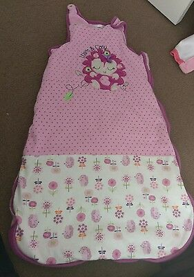 baby girls grow bag 2.5 tog 12-18 months in very good condition