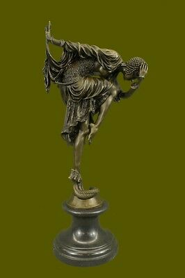 D.H.Chiparus bronze statue, art deco dancer sculpture Hot Cast Figurine Figure