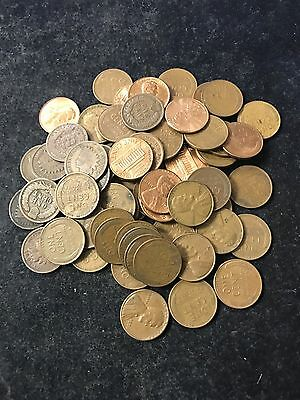 Estate Lot of Cents! INDIAN, WHEAT, & B.U. MEMORIAL! 25 Coins