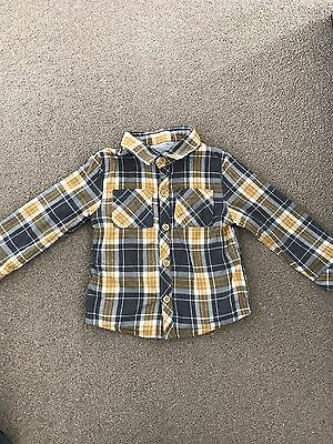 Baby Boys 9-12 Months Checked Shirt