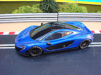 UNBOXED COMPLETE MINT SCALEXTRIC McLAREN P1, DPR - LOADS MORE CARS 4 SALE