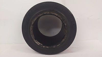 """New Monarch 8""""X4-1/2""""X4-1/2"""" Press On Smooth Solid Rubber Forklift Tire"""