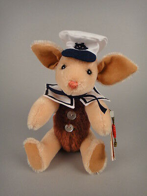 RARE Original Hermann Teddy Sailor PIGLET #154/300 Germany Mint Condition