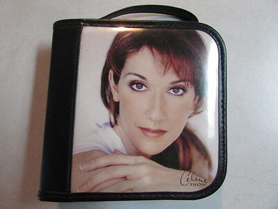 Celine Dion Cd Wallet Handbag W/zipper And 12 Double Sided Pouches - Memorabilia