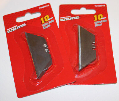 Utility Knife Blades,2 Packs, Each Pack 10 Blades, Total 2o Blades BLOW OUT