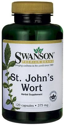 St John's Wort 375 mg x 120 Capsules - 24HR DISPATCH