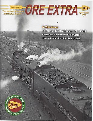 Ore Extra: Spring  2016 issue of the MISSABE Railroad Historical Society (NEW)