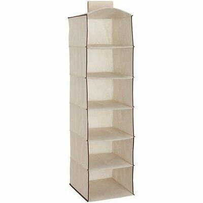 Delta Children 6 Shelf Storage with 2 Drawers, Beige Set of 2