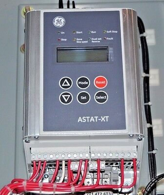 GE ASTAT-XT Soft Starter General Electric Solid State Reduced Voltage Starter