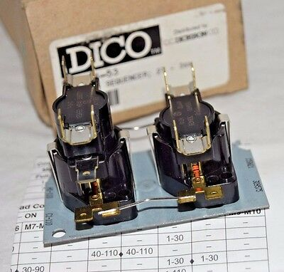 Dico Fan Time Delay & Heat  Sequencer D24A34-53
