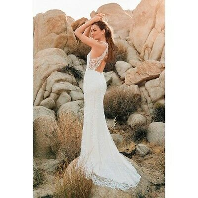 WATTERS WILLOWBY ~ Sookie 58702 ~ Lace Open Back Wedding Gown ~ size ...