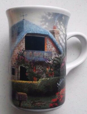 Thomas Kinkade Lilac cottage Coffee mug cup ships free! small