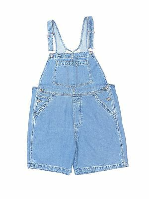 NWT St. John's Bay Women's Denim Bib Short Overalls Shortalls Plus Size 16-24