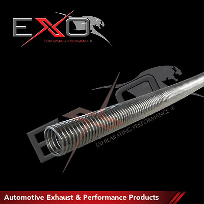 """Stainless Steel 316 Exhaust Flex Tube 1.25"""" I/D (31.75mm) 1 Metre Section"""