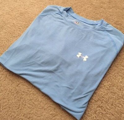 Under Armour Men's Heat Gear Fitted T-Shirt Large L