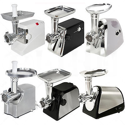 Electric Meat Grinder Commercial Sausage Stuffer Mincer Machine Stainless Steel