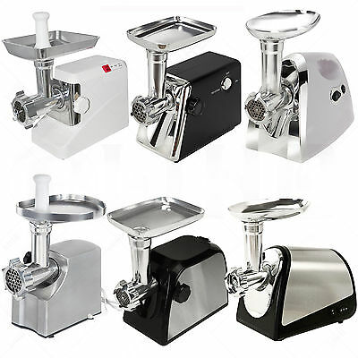 Electric Meat Grinder Stainless Steel Sausage Stuffer Maker Commercial Home Use
