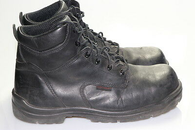 RED WING SHOES Steel-Toe Work Boots Men's Size 14 D Black
