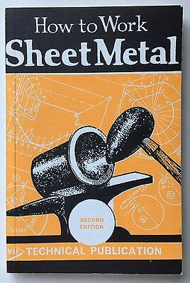 How To Work Sheet Metal Herbert Dyer 2nd Edition Argus Technical Publication UK