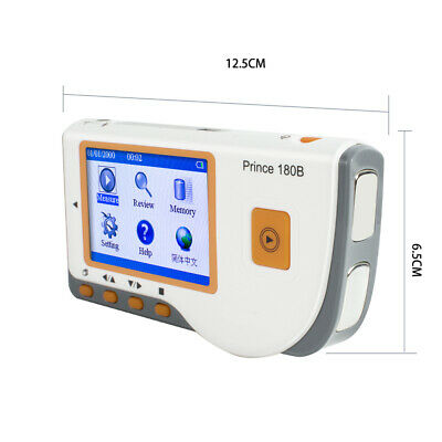 HEAL FORCE PRINCE 180B MINI ECG EKG Heart Monitor + CD Software + Lead Wire FDA