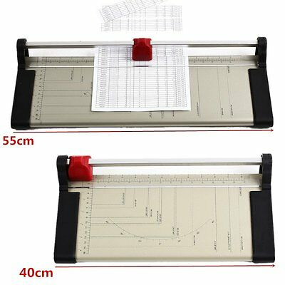 Precision Paper Guillotine Cutter Trimmer Photo Card Office Arts Crafts-A3 A4 A5