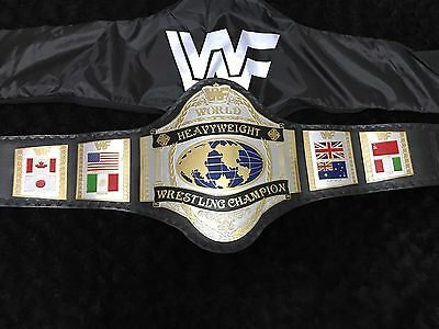 Wwe Wwf Hogan 86 Custom Gold And Silver Custom Made Replica Champion Belt