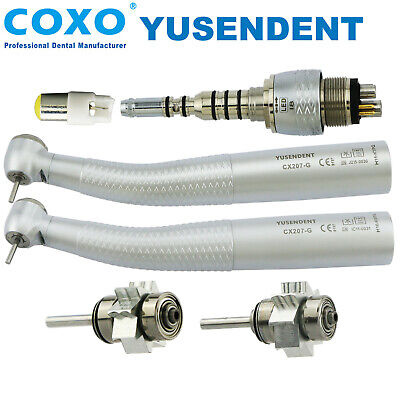 COXO YUSENDENT Dental Fiber Optic Led High Speed Handpiece KAVO Multiflex LUX