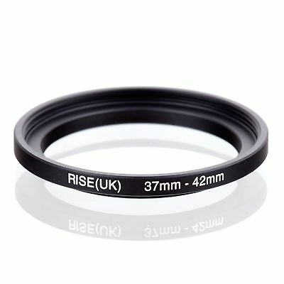 RISE(UK) 37-42mm 37mm -42mm  Metal Stepping Step-up Filter Ring Adapter 37-42