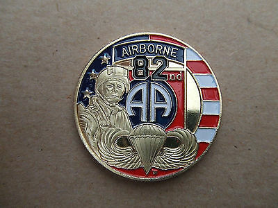 Coin Medaille 82 Airborne Us D-Day