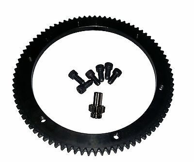 Harley Starter Ring Gear Kit, 84T, Big Twin 1998-06 Twin Cam model 1084