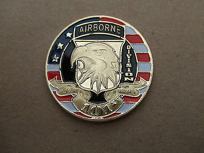 Coin Medaille 101 Airborne Us D-Day